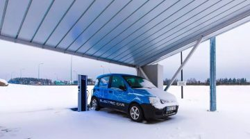 EV charging station projects