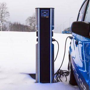 EV charging stations Vilnius-Lithuania
