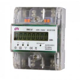 Digital energy meter for EV charging station