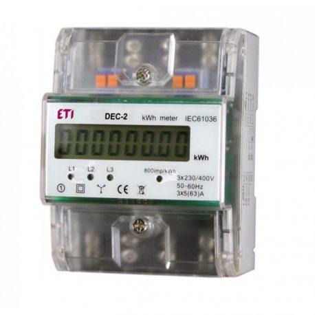 Digital energy meter for EV charging station