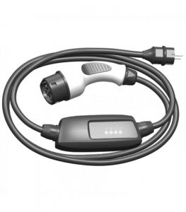 Type 2 with control box charging cable