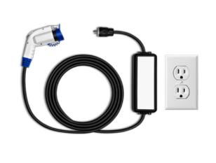 Informationen über Ladekabeltypen für Benutzer von Elektrofahrzeugen.