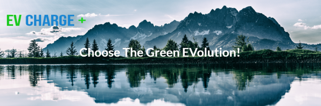 Choose the green evolution ev charge plus