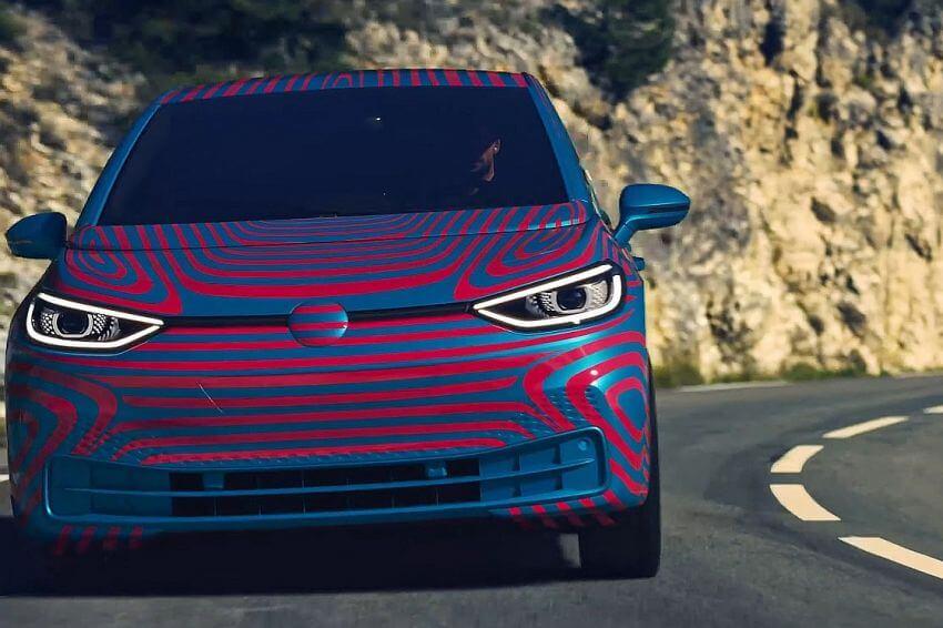 ID Hatchback camouflaged