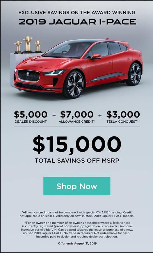 Jaguar Offers $3K Off To Tesla Owners