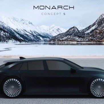 Monarch Concept S: The Russian Affordable EV