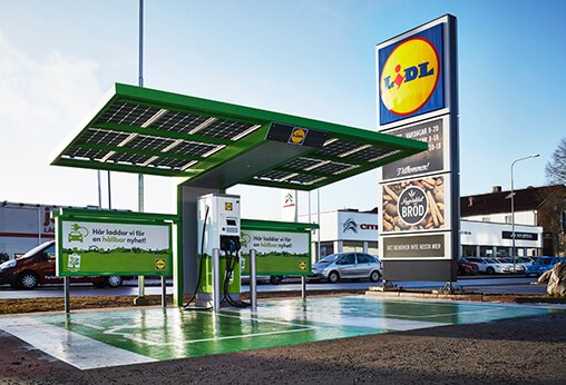 Lidl to Install Rapid EV Charging Stations in The UK