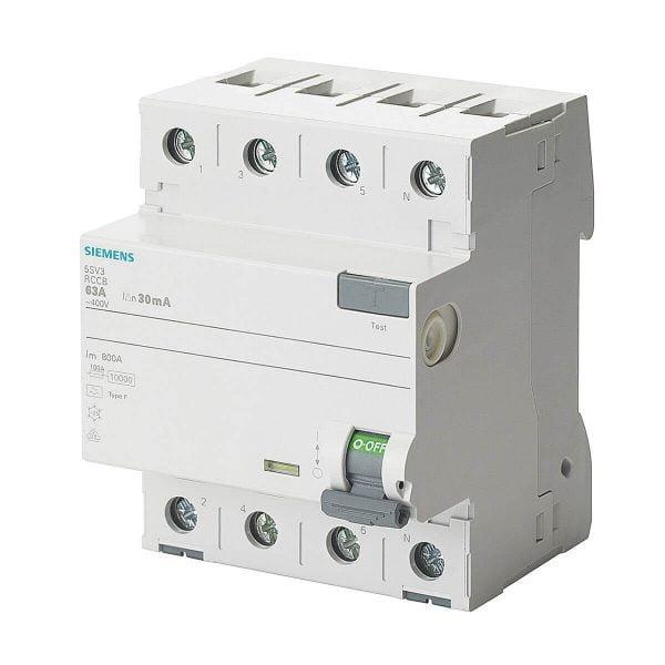 RCCB type B – Current circuit breaker B type