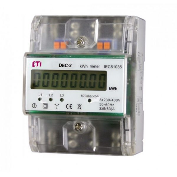 Digital energy meter
