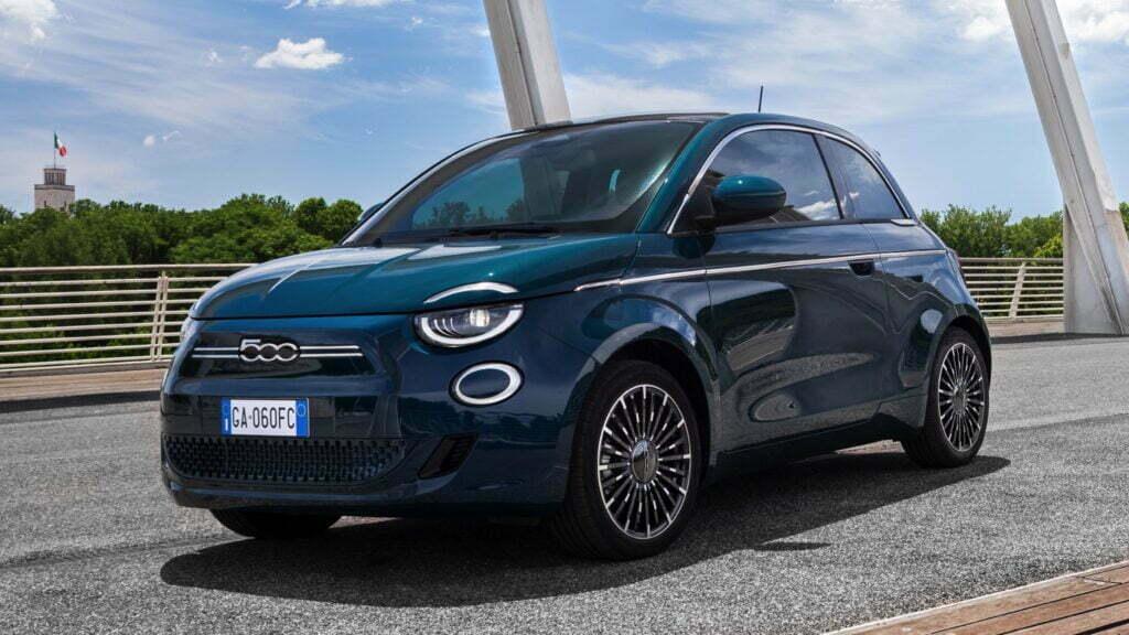 The most affordable EV Fiat 500e