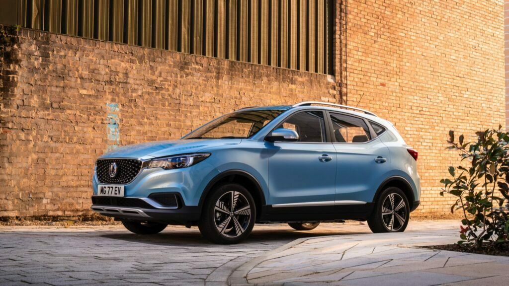 One of the most affordable EV is MG ZS