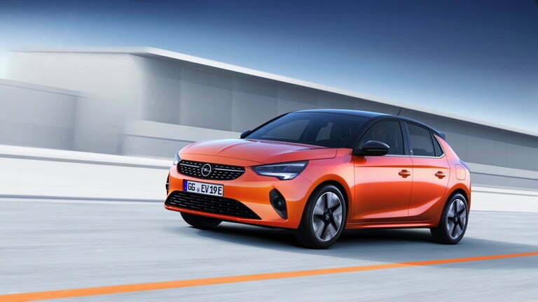 The most affordable EV Opel Corsa-e