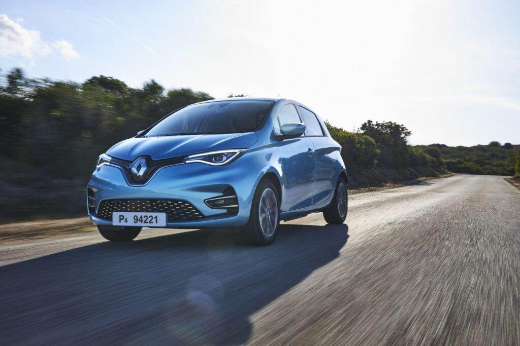 Electric vehicle Renault Zoe