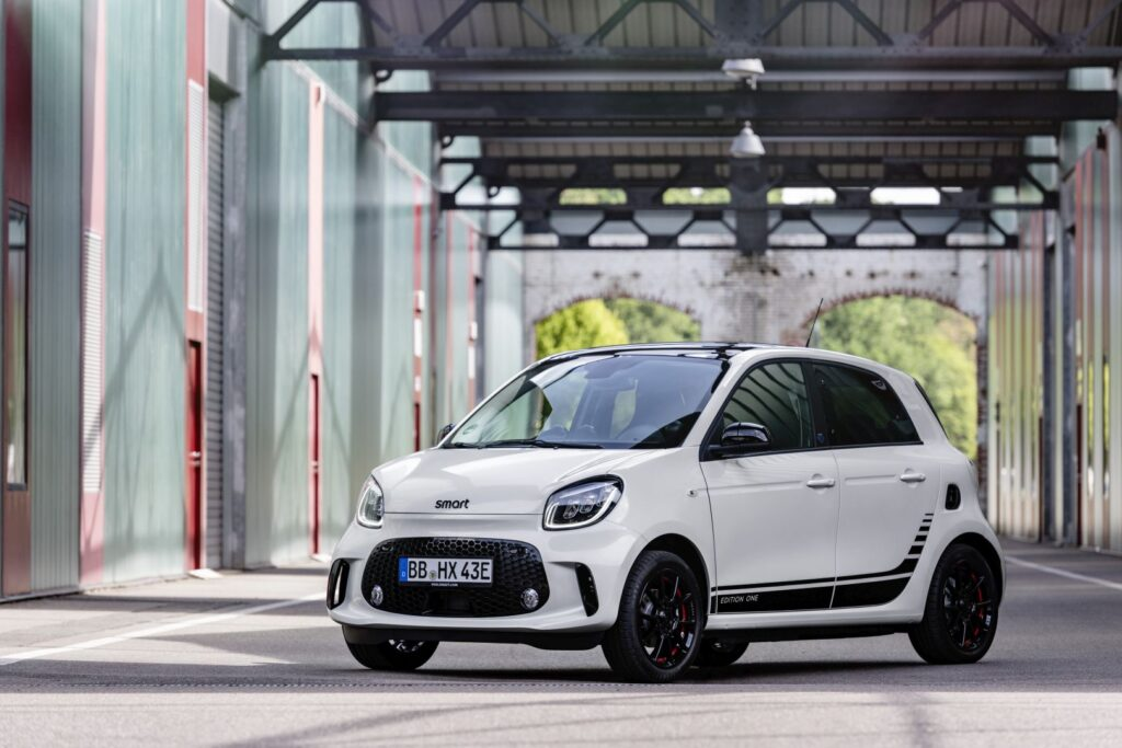 The most affordable EV Smart EQ